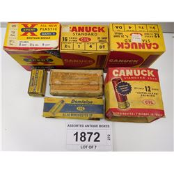 ASSORTED ANTIQUE BOXES
