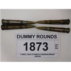 DUMMY ROUNDS