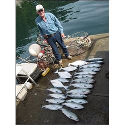 Southeast Alaska Fishing Trip wth Tuck Harry of Fishing Bear Charters