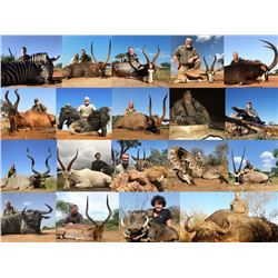 5 Day Trophy Hunt with $500 credit per hunter for 2 Hunters & 2 Non-Hunters