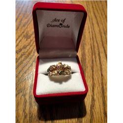 Men's Gold & Diamond Ring