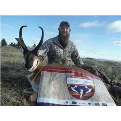 2 Trophy Montana Mule Deer Hunts – One Hunter & One Selected Veteran