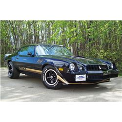 2:00 PM SATURDAY FEATURE 1979 CHEVROLET CAMARO Z28 4 SPEED INCREDIBLE LOW MILE CAR