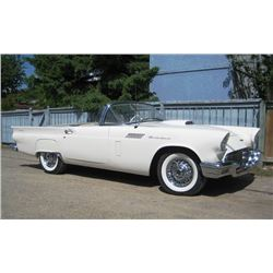 1:00 PM SATURDAY FEATURE! 1957 FORD THUNDERBIRD ROADSTER