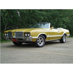 2:30 PM SATURDAY FEATURE! 1972 OLDSMOBILE CUTLASS CONVERTIBLE