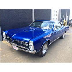 12:30 PM SATURDAY FEATURE! 1967 PONTIAC GTO PHS DOCUMENTED 400 cid V8 FRAME-OFF RESTORATION