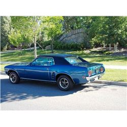 NO RESERVE! 1969 FORD MUSTANG COUPE GRANDE TRIBUTE