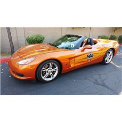2007 CHEVROLET CORVETTE ROADSTER INDY PACE EDITION