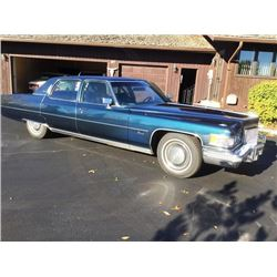 1975 CADILLAC FLEETWOOD TALISMAN 4-DOOR SEDAN