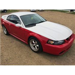1999 FORD MUSTANG GT 35TH ANNIVERSARY EDITION