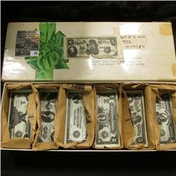 33.    A large group of a couple of hundred pieces of Miniature Replica Currency including (3) diffe