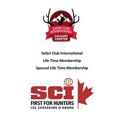 SCI Life Membership and SCI Spousal Life Membership