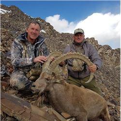 Kyrgyzsytan or Tajikistan Mid-Asian Ibex Hunt