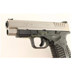 Springfield XDs-9 4.0 9mm SN: S4925280