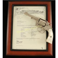 Factory Engraved Colt Police Positive .38