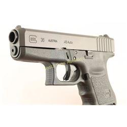 Glock 36 Gen 3 .45 ACP SN: TGN816