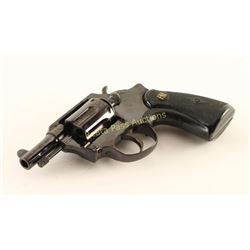 F.N.A. Double Action .32 S&W SN: 01295