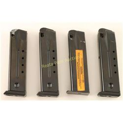 4 Magazines for .40 Ruger P-Series Pistols
