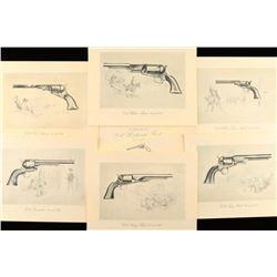 Colt Historical Handgun Prints 1836-1873