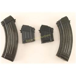 Lot of 4 AK-47 Mags