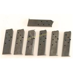 Lot of 7 Colt 45 Mags