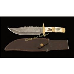 Fox and Hound Bowie Knife