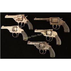 Lot of 5 Modern Revolvers