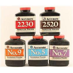 Lot of Accurate Smokeless Powder