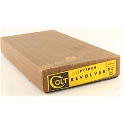 Box for Colt Python 357