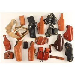 Large Lot of Leather