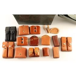 Lot of Leather Ammo Pouches