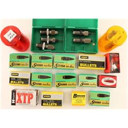 Lot of Bullets and Reloading Items