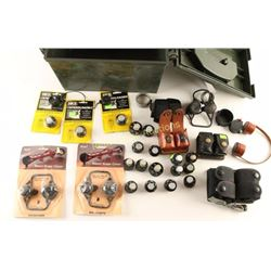 Large Lot of Speed Loaders & Pouches