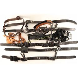 Large Lot of Duty Belts & Holsters