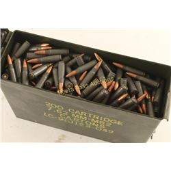 Ammo Can of Wolf 7.62x39 Ammo