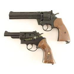 Lot of 2 Crosman Air Revolvers