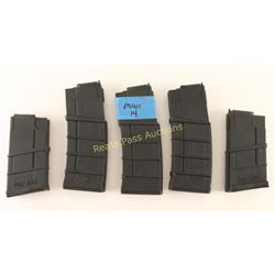 (5) Ruger Mini-14 Mags