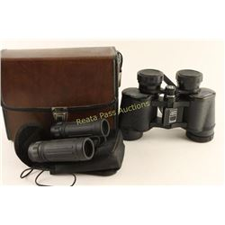 Collection of two Pairs of Binoculars