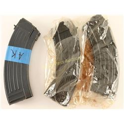 (3) AK-47 Mags