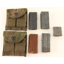 Lot of 5 M1 Carbine Magazines