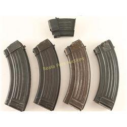 Lot of 5 AK-47 Magazines