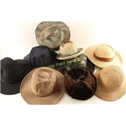 Large Collection of Mens Hats