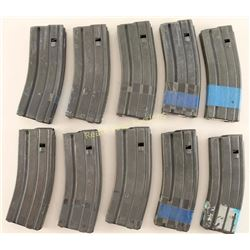 Lot of 10 AR-15 Mags