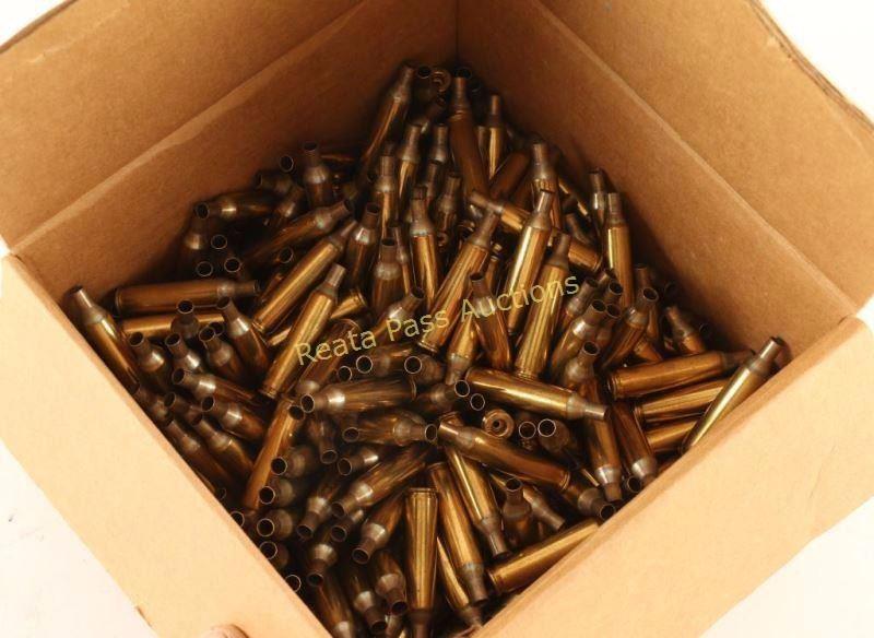 Lot of  17 Remington Brass