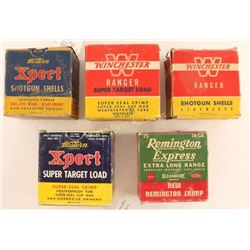 Lot of Vintage Shotgun Ammo