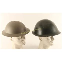 Lot of 2 Helmets