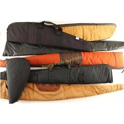 Collection of 7 Soft Rifle Cases