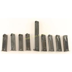 Lot of 9 Ruger P-85 Magazines