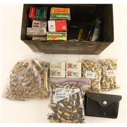 Ammo Can with Ammo, Brass & Bullets