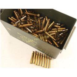 Ammo Can Half Full of .270 Win Brass